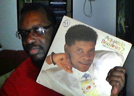 Com o LP (Viníl) de minha coleção,  Aquarela Brasileira 2  de 1989