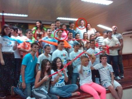 Voluntários da Rede em Manaus, nos destaques, Marina Silva e o Dep. Luiz Castro