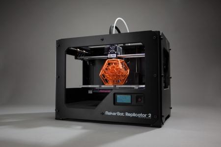 Um modelo de impressora 3D