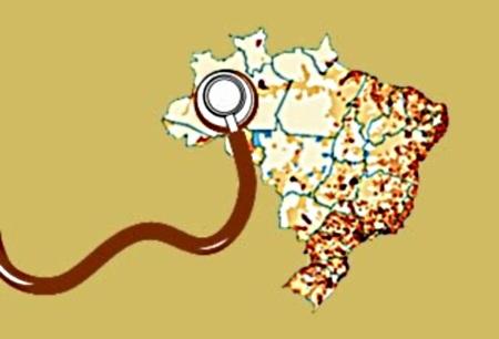 Distribuição médica no Brasil, desenhada, precisa explicar ?