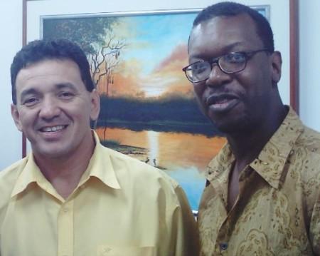 Com o Deputado Tony Medeiros