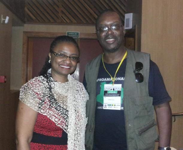 Com a Profª Nilma Lino.